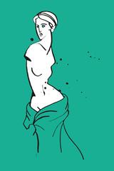 Venus caricature