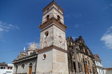 La Merced Church in Granada, Nicaragua, Central America
