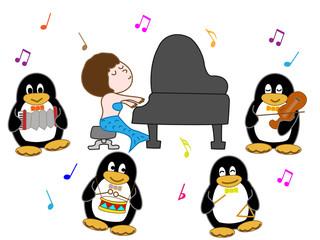 ペンギンの演奏会
