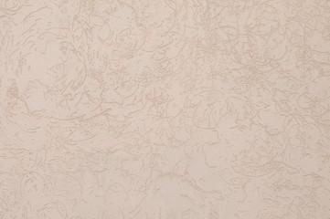 Closeup fragment shabby stucco wall.
