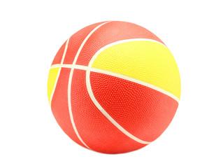 ball basketball isolated on white background