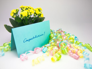 Massage Card; Congratulations!