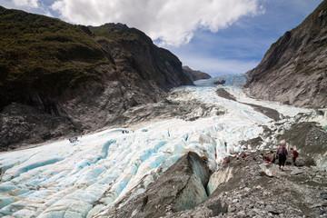 Scenic landscape at Franz Josef Glacier, New Zealand