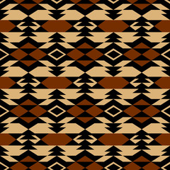 Navajo aztec textile inspiration pattern. Native american indian
