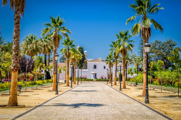 Klasztor Santa Maria La Rábida, Huelva - fototapety na wymiar