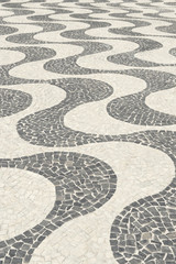 Copacabana Beach Sidewalk Design Rio de Janeiro