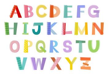 アルファベット / vector eps10
