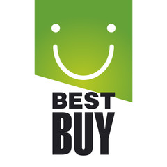 Best Buy green logo background
