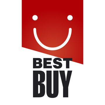 Best Buy red logo background