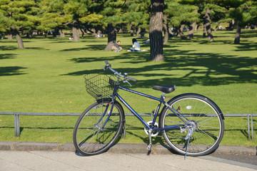 Bicycle in Kokyogaien National Gardens