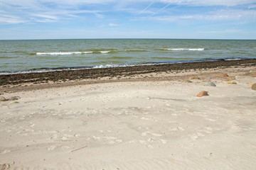sand near the sea