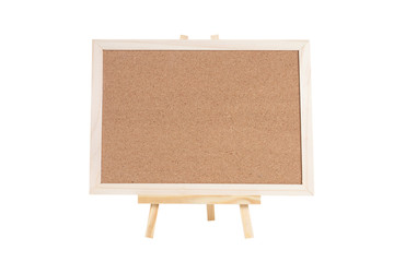 cork board , isolated on white background