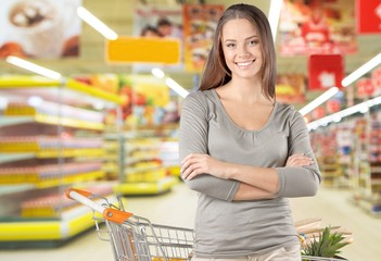 Supermarket. The Market: Picking up a Prescription