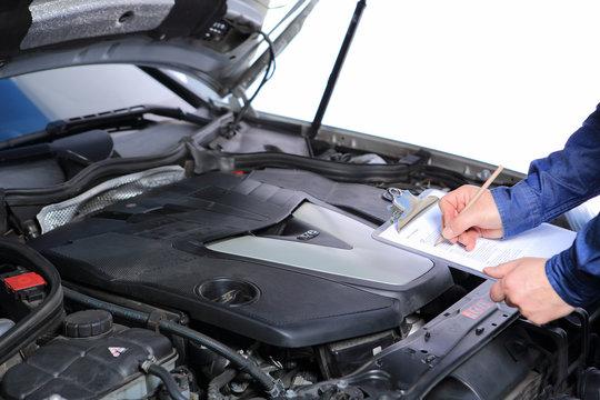 car inspection / Autoinspektion