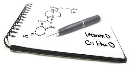 Chemical formula of Vitamin D