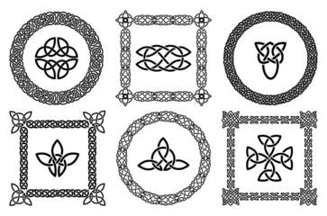 Celtic knots frames
