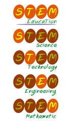 STEM Education Button Logo