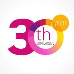30 anniversary chart logo