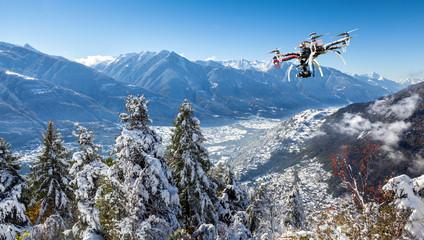 Valtellina - Sondrio - ripresa aerea con drone
