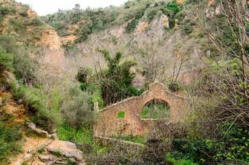 ruinas de pueblo antiguo
