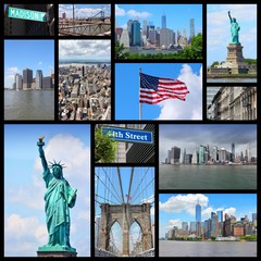 New York City - travel collage