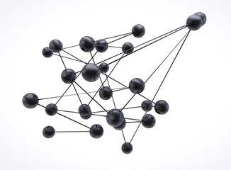 Network of spheres