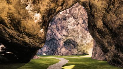 grotte chemin 02