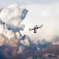 Uav in the sky
