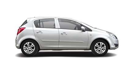 Family hatchback car
