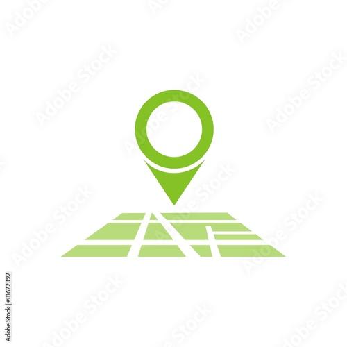 Icono Mapa Ubicacin Color Fb Stock Image And Royalty Free Vector