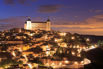 Toledo is capital of province of Toledo, Spain.
