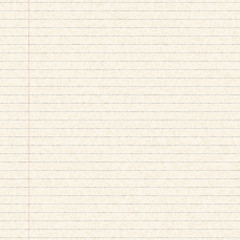 Illustration of a sheet of lined paper
