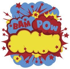 Comic bam pow