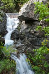 Waterfall on Mt Olympus
