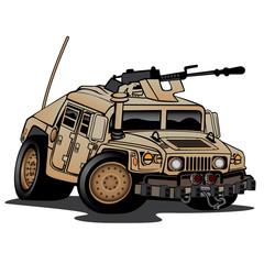 Humvee Military Truck