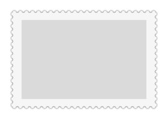 Briefmarkenvorlage für weitere Bearbeitung