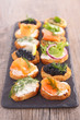 finger food, canape