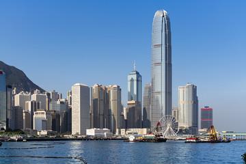 High rise buildings in Hong Kong.