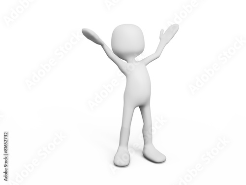 quot bonhomme mains en l air quot  photo libre de droits sur la news presenter clipart presentermedia clipart