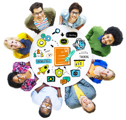 Ethnicity People Training Ideas Information Knowledge Concept