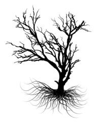 Dead Tree Halloween Graphic