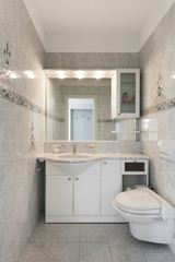 Interior home, bathroom