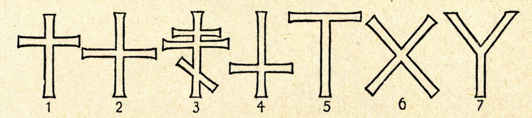 Forms of cross