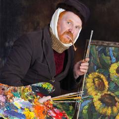 Vincent van Gogh portrait of dedication