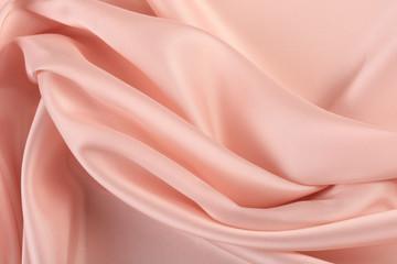 pink chiffon folds