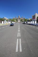 Queen Maria-Christina Avenue, Barcelona, Spain