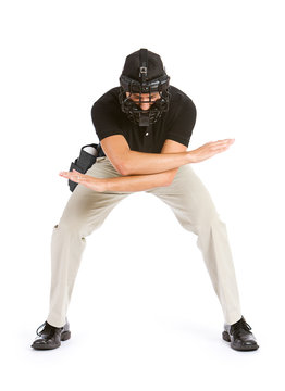 Baseball: Umpire Calling Player Safe