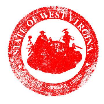 West Virginia Seal Stamp