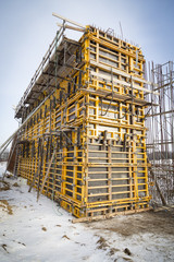Higway building site