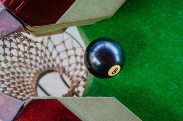 Fototapete - 8 ball
